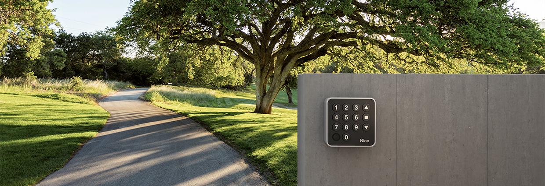 Torerweiterungen Nice Era Keypad
