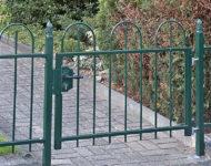 Das Gartentor Genf im minimalistischem, zeitlosen Design.