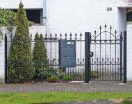 Gartentor Liverpool überzeugt  mit schwungvoller Eleganz.