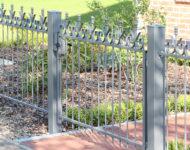 Gartentor Riga überzeugt durch ein gradliniges Design.