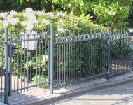 Unser Gartenzaun Bremen bietet klare Linien.