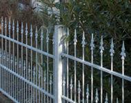 Gartenzaun Nizza klassisch, schlichte Design.